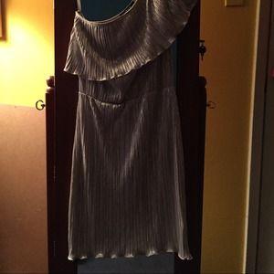 ASOS Dresses - Asos gold dress ..never worn