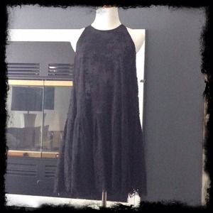 NWOT A-Line Black Lace Jill Stuart Dress