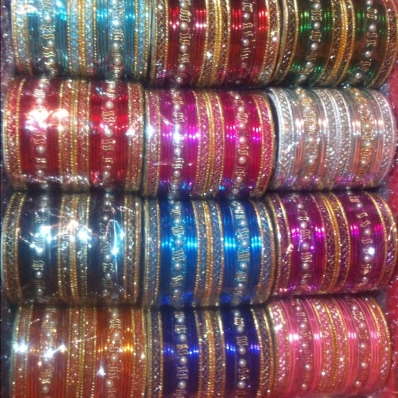 Jewelry plus size authentic indian bangle bracelet sets for Plus size jewelry bracelets
