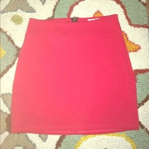 Urban Outfitters Red Mini Skirt