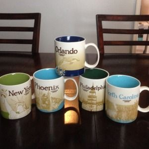 Starbucks CITY Mugs!