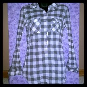 56 Off American Eagle Outfitters Tops Pink And Grey