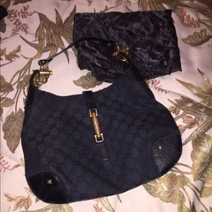 Black Gucci Handbag