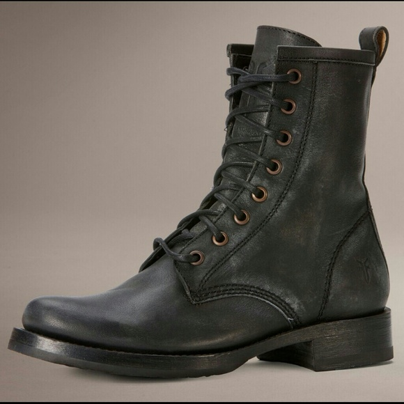 64% off Frye Boots - Brand New Frye Veronica Combat Boots! from ...