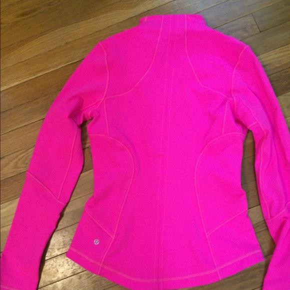 29% off lululemon athletica Jackets & Blazers - Hot pink Lululemon ...