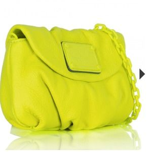 Marc by Marc Jacobs Electro Yellow Crossbody