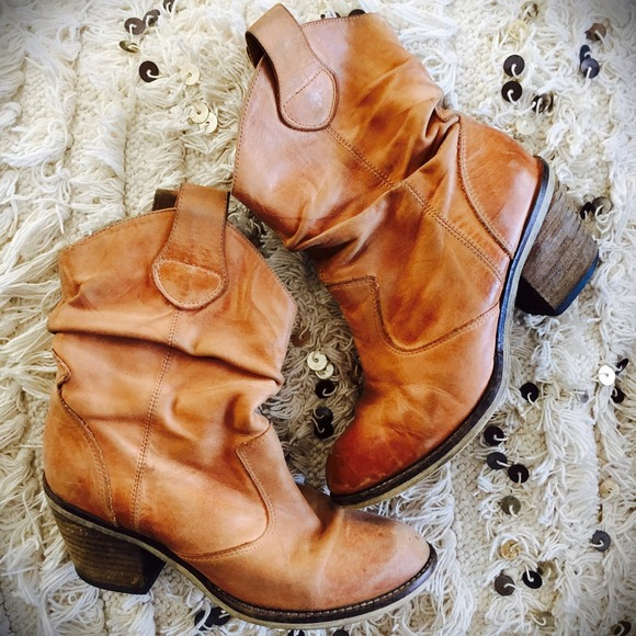 79% off ALDO Boots - { S A L E } Short Slouchy Cowgirl Boots from ...