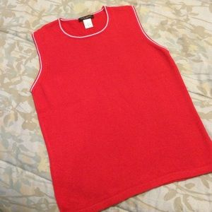 henri bendel Tops - Red Henri Bendel Tank