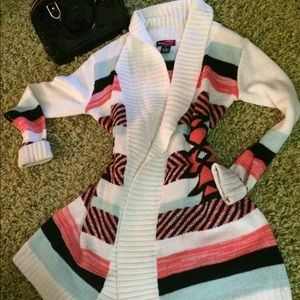 Aztec Sweater  Size Small