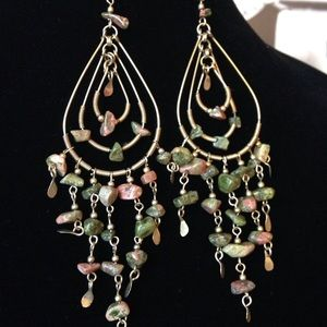Boutique Jewelry - ⭐️Boho stone chandelier earrings