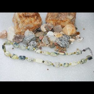 handmade & handcrafted gemstone jewelry Jewelry - Natural African Turquoise Adjustable Necklace