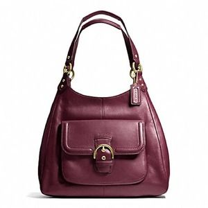 Coach Handbags - Authentic Coach Campbell leather hobo