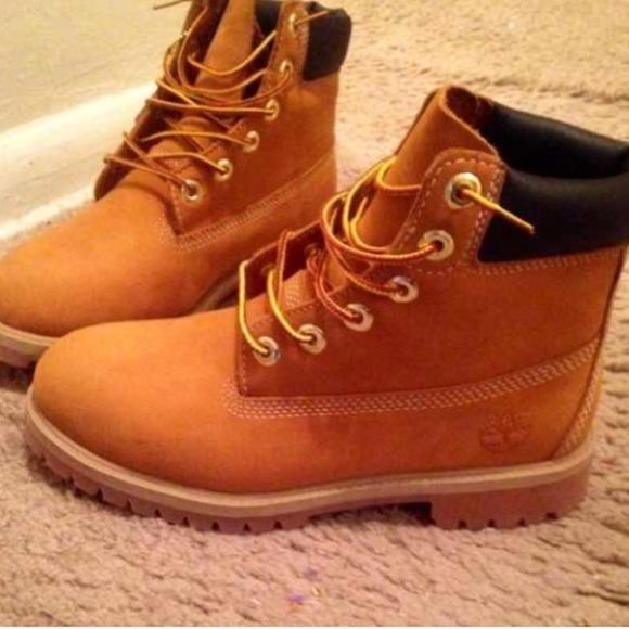timberland junior boots 6.5