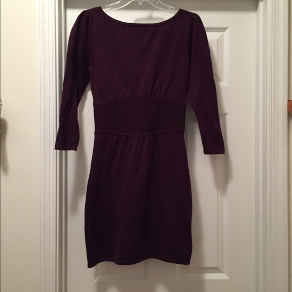 Express Dresses Maroon Zipup Sweater Dress Poshmark