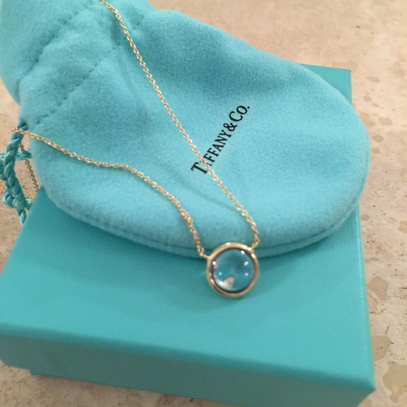 38 Off Tiffany Amp Co Jewelry Tiffany Blue Topaz