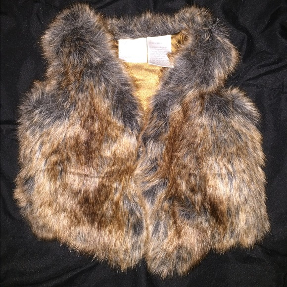Koala Baby - Baby Faux Fur Vest from Page's closet on Poshmark