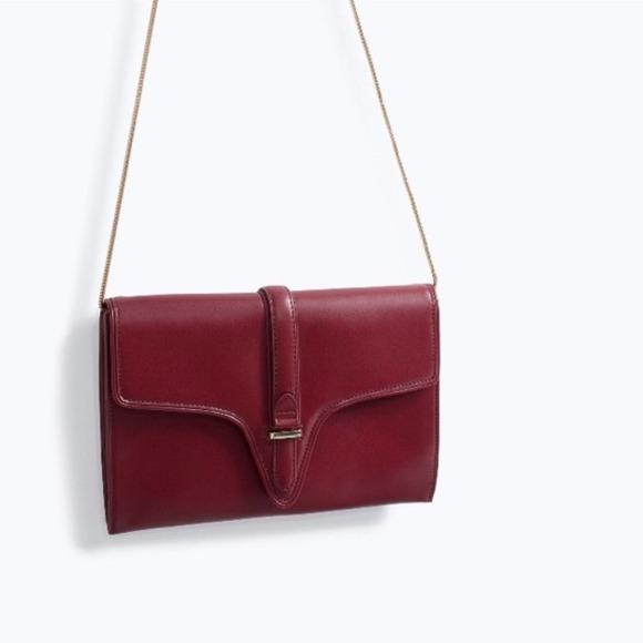 Zara Handbags - Zara Clutch/Chain Bag