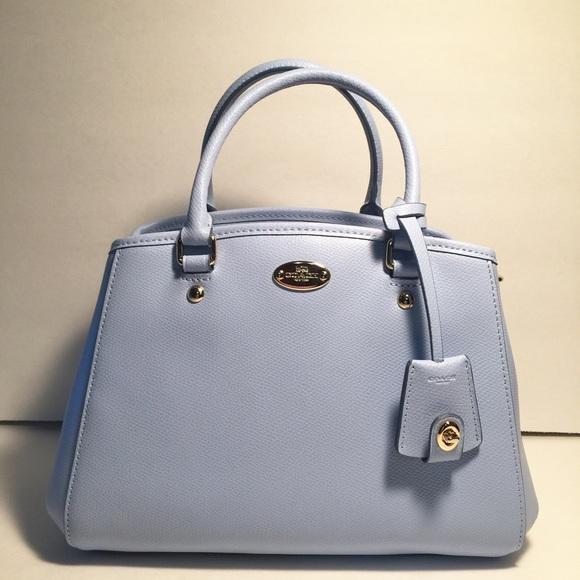 Coach Handbags - ‼️HUGE SALE‼️Coach mini Margo Carryall Pale ...