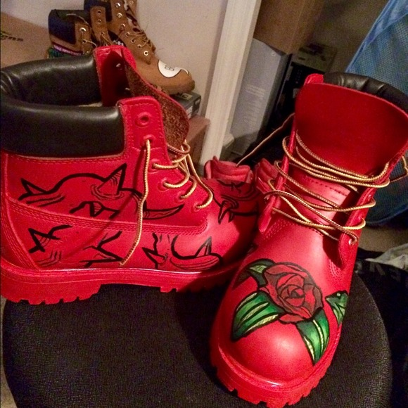 timberland one of a custom made timberland boots