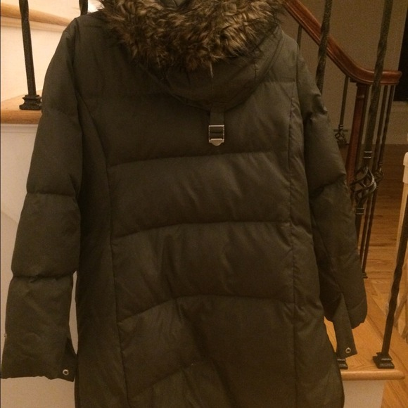 70 off michael michael kors outerwear michael kors if thigh length winter coat from rebecca. Black Bedroom Furniture Sets. Home Design Ideas