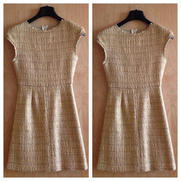 Alice + Olivia Dresses   Skirts - Alice + Olivia Elise Metallic Tweed Dress c2102187c