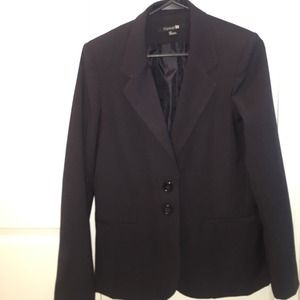 Black Blazer Career Jacket