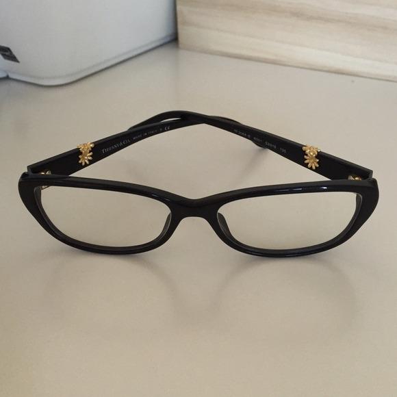 Tiffany Eyeglass Frames With Crystals : 62% off Tiffany & Co. Accessories - Tiffany & Co. 2068B ...