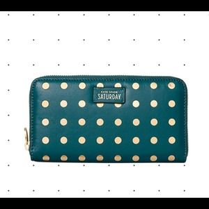 / new / KATE SPADE polka dot wallet