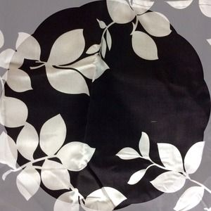 Black & White Bed Skirt
