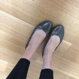 Tod's Shoes - Tods grey patent ballet flats