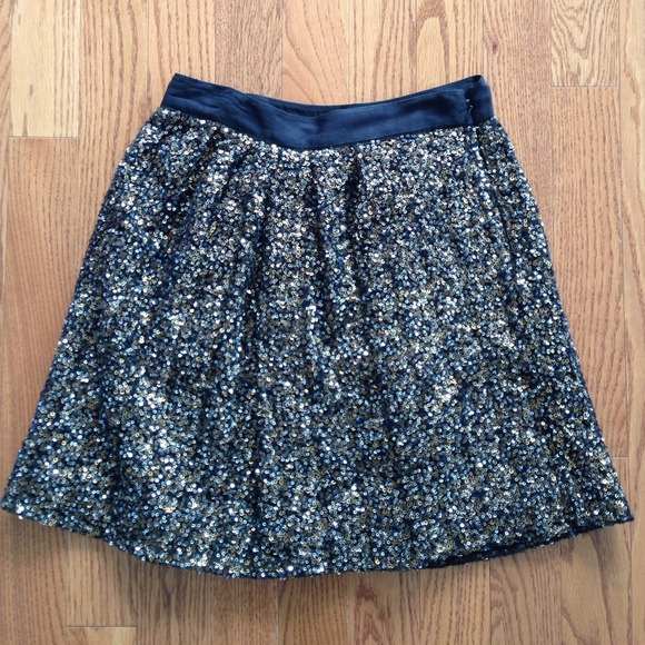 Club Monaco Skirts - Club Monaco Sequined Skirt