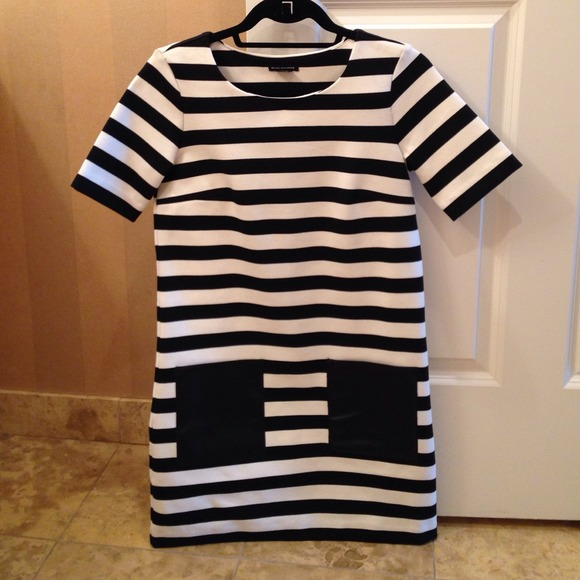 Club Monaco Dresses - Club Monaco striped Dress
