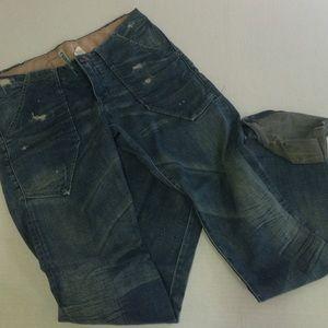 Rogan Pants - Low rise wide leg Rogan jeans