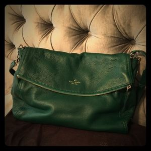 Kate Spade Cobble Hill Green, used once