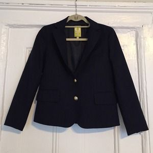 Navy 2-button blazer