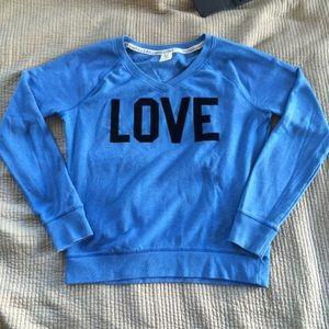 Victoria's Secret PINK V-Neck Crewcut Sweatshirt