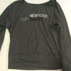 Bella Tops - New York City ballet shirt