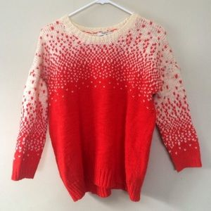 Madewell ombre sweater