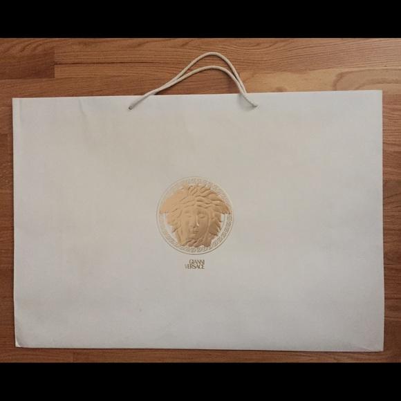 9c1147069b Giant Versace paper shopping bag. M_54cd49f84845e65f2210f4ce