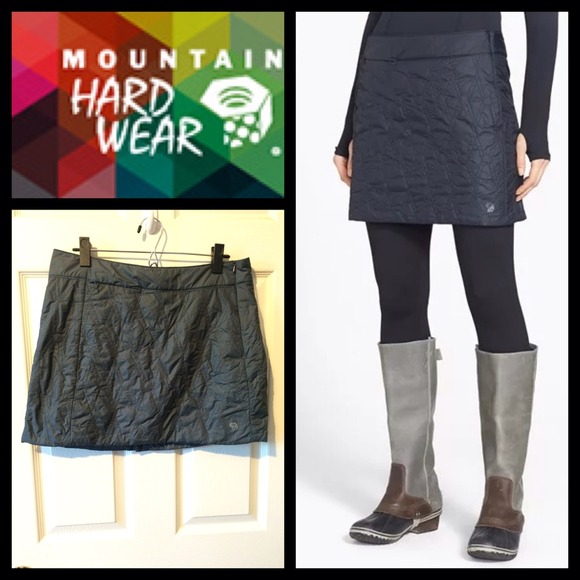 Mountain Hardwear Skirts Trekkin Insulated Miniskirt In