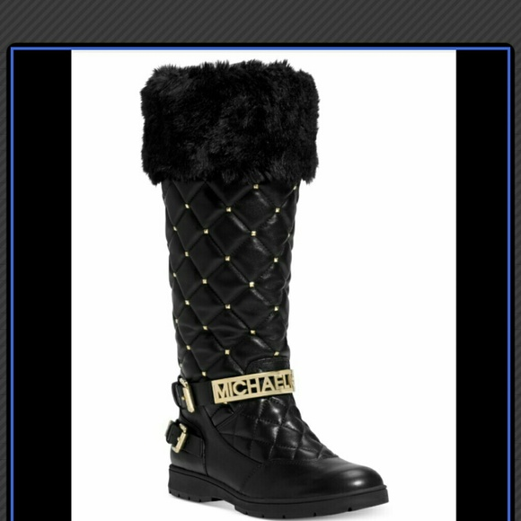 b65efd8d6 Michael Kors Essex Quilted Winter Boots w/fur. M_54cd58b693c636056902422a