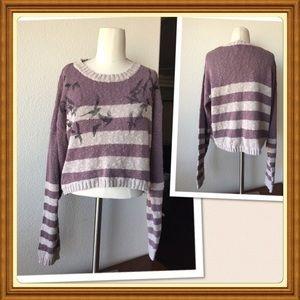 Sz xl cropped sweater
