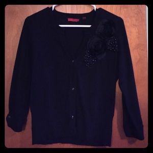 Black Embellished cardigan medium