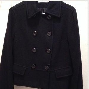 MaxMara Jackets & Blazers - MaxMara Black Peacoat