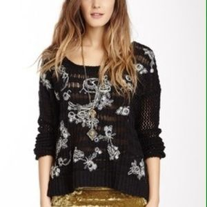 Free People Sweaters - ️NWT Free People Spring Embroidered Sweater