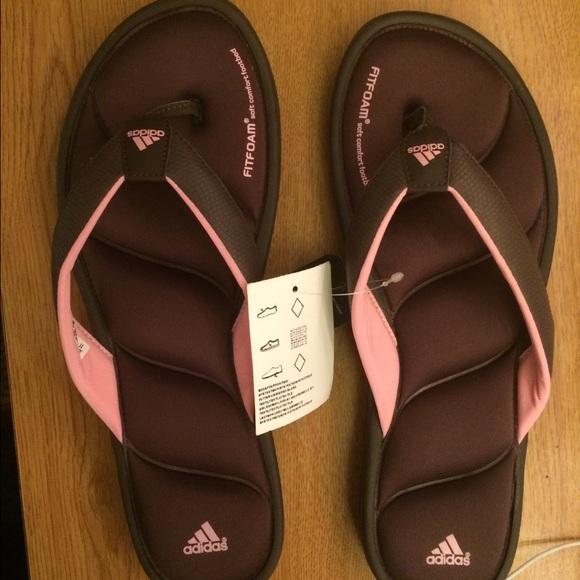 le adidas donne fitfoam sandali infradito poshmark
