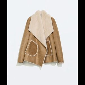 Zara TRF Double Sided Coat