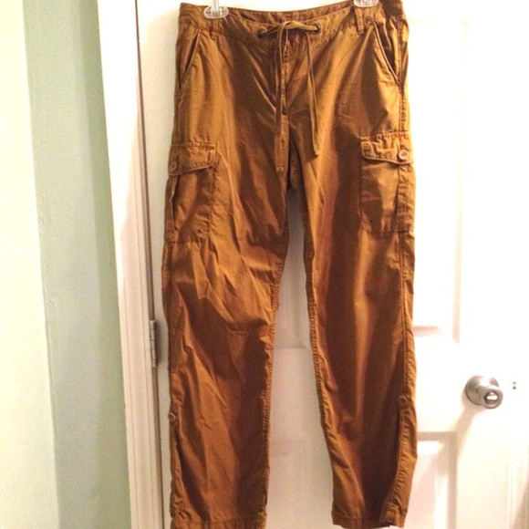 J. Crew - J Crew rollup cargo pants Old Gold, Favorite Fit from ...