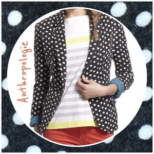 NWT Anthropologie Dotty Knit Blazer