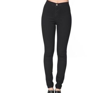 42% off American Apparel Pants - American Apparel Black Easy Jeans